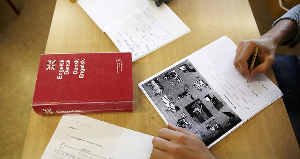 Materialer til danskundervisning