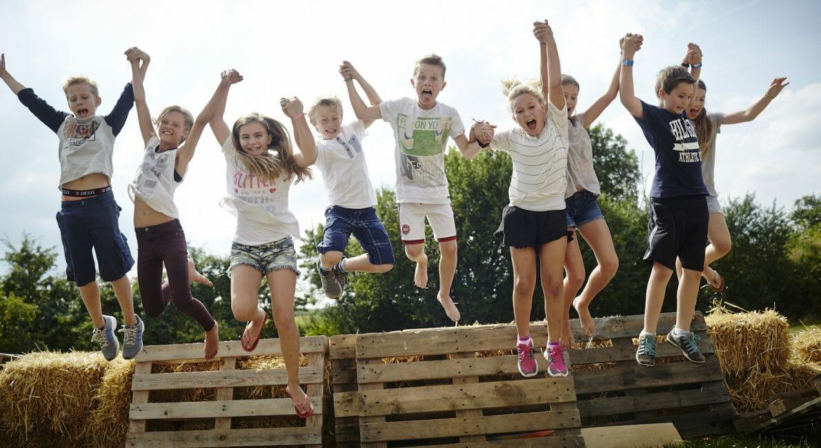 Kids having fun at the Summer School