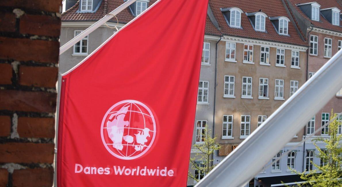 Danes Worldwide flag