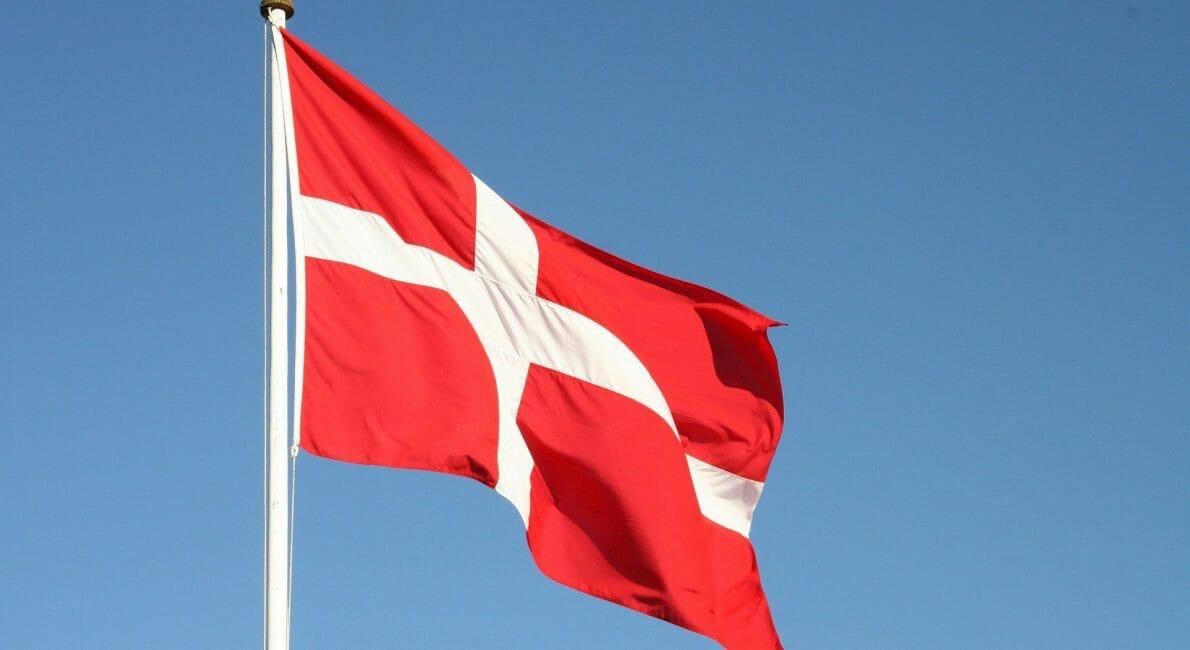 Dansk flag Danmark Dannebrog