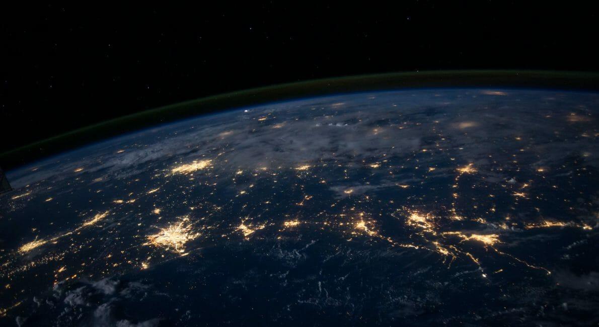 Jordkloden set fra rummet