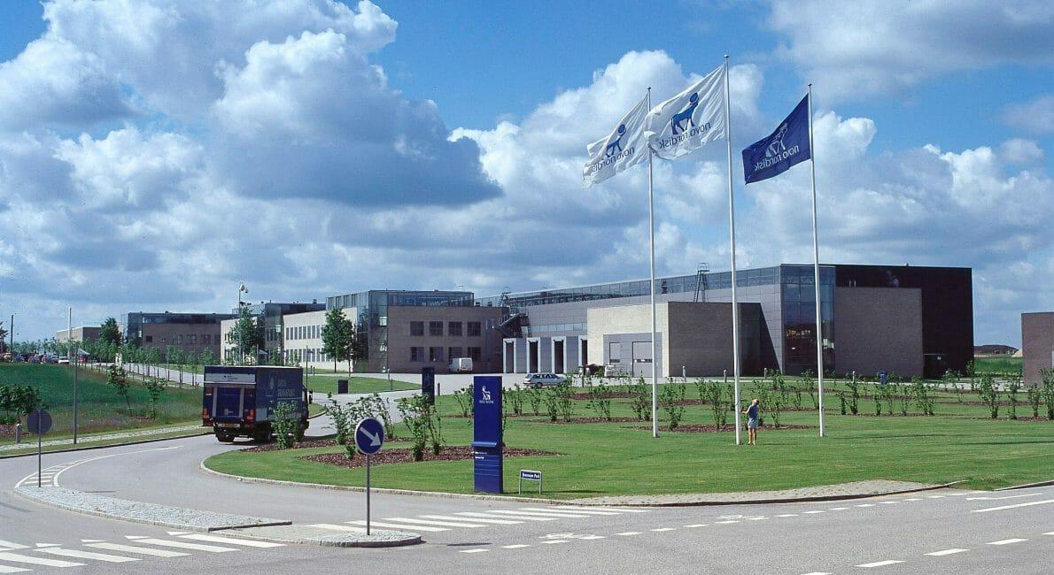 Novo Nordisk fabrik i Hillerød