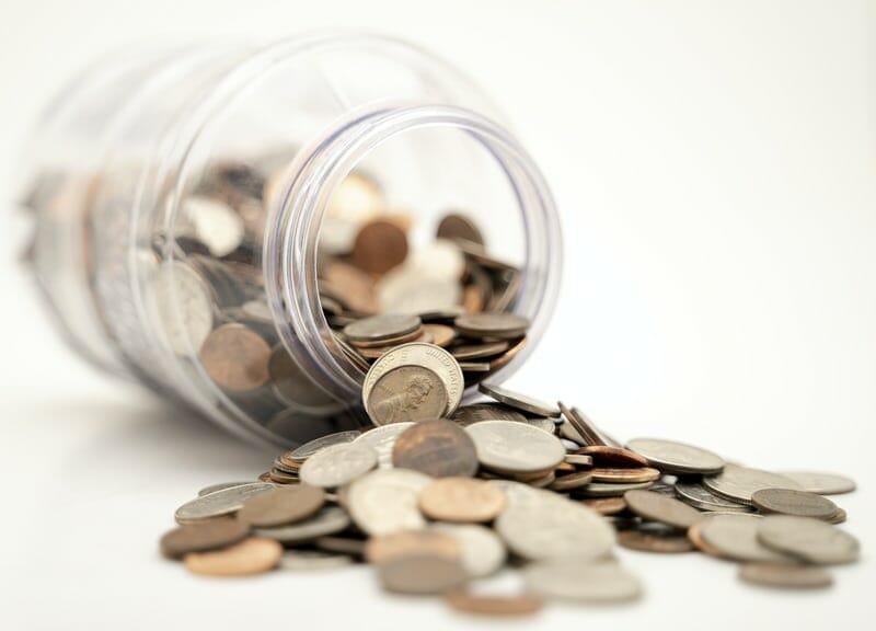 Penge, småmønter