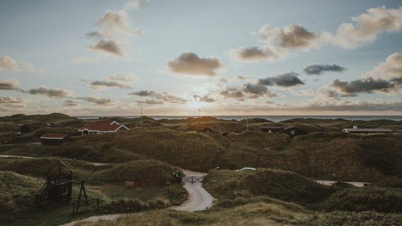 Landskab sommerhuse i Danmark