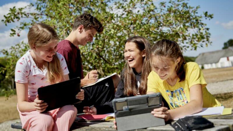 Online danskundervisning udenfor